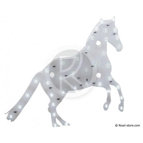 Dekoration Pferd LEDS 24V Weiß