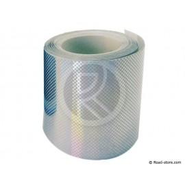 RUBAN REFLECH. ROULEAU 5,5m x 5cm ARGENT