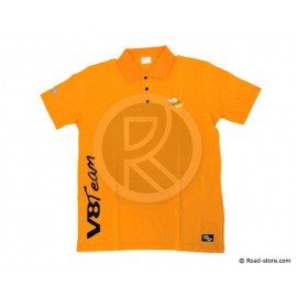 "POLO V8 TEAM ""CLASSIQUE"" S ORANGE"