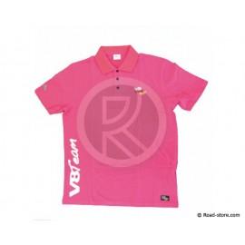 Polo V8 Team Classique M Pink