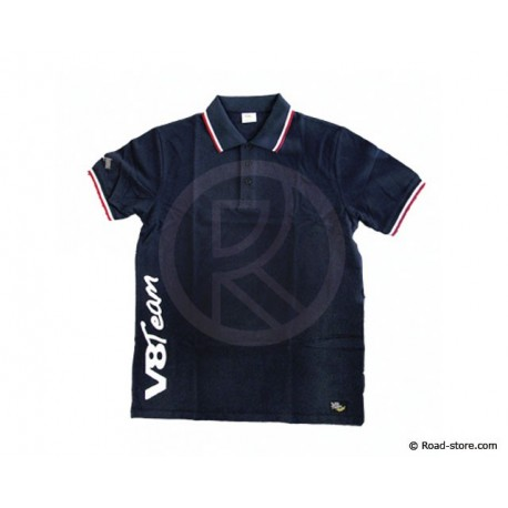 "POLO V8 TEAM ""COLLECTION"" L Blau"