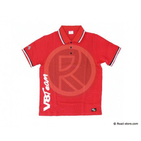 "POLO V8 TEAM ""COLLECTION"" XL ROUGE"