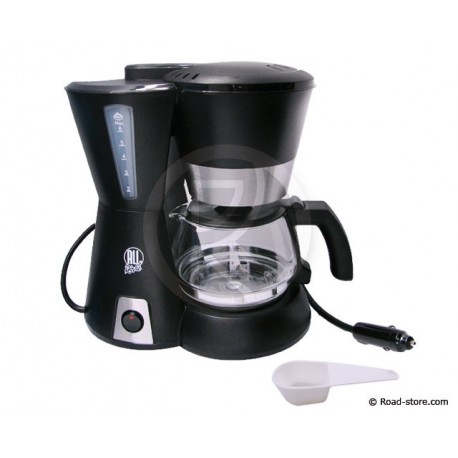 CAFETIERE 6 TASSES 12V 170W + FIXATIONS