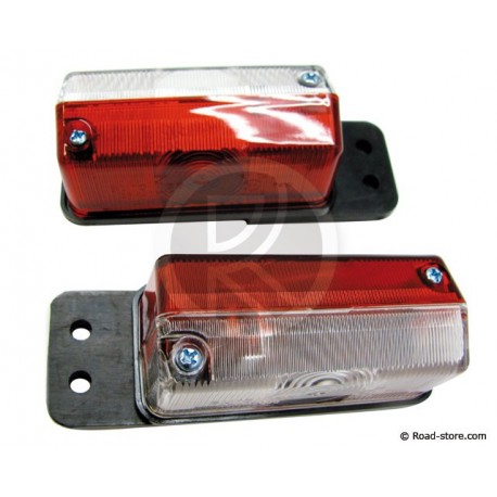 Side clearance lights Bicolor x2