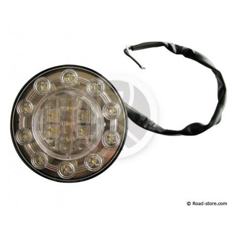 Universal Rear Light 15 LED 24V WHITE