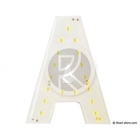 Buchstaben/Nummern LEDS 90MM 24V Weiß für platte