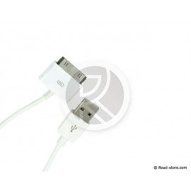 CABLE CONNEXION 2 EN 1 iPHONE/iPAD/iPOD vers USB 2.0