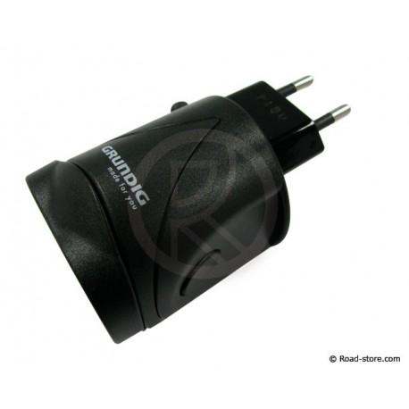 ADAPTATEUR PRISE 220V + PORT USB GRUNDIG