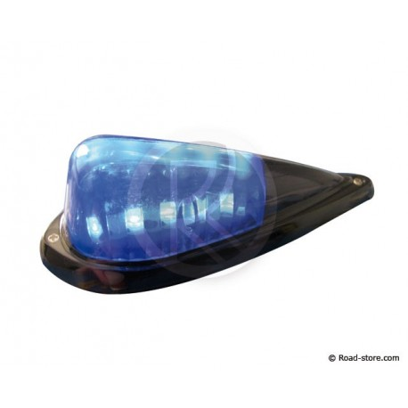 "Licht ""DROP"" 5 LEDS 24V Blau / Schwarz"