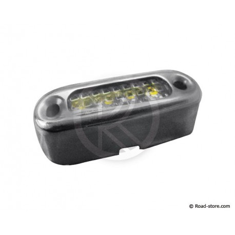 Grill Dekoration 4 LEDS 24V Weiß