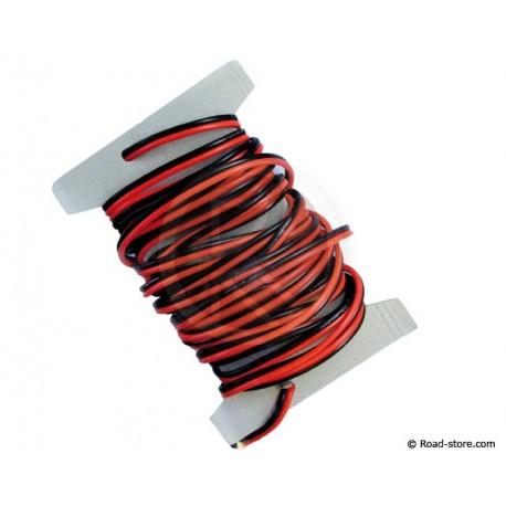 Elektrokabel 2 x 2,5 mm2 6M 20A max.