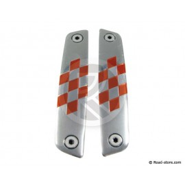 Universal Door Guard Chrome/Red