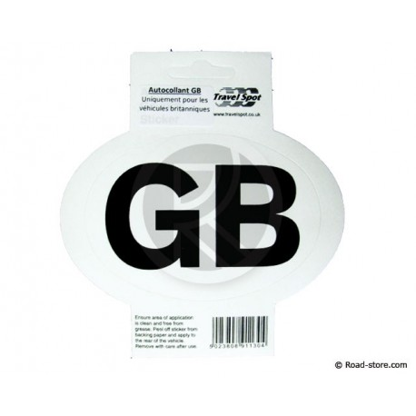 "Sticker ""GB"""