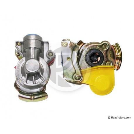 Gelbe Verbindungschnurr Bremse Ohne Filter