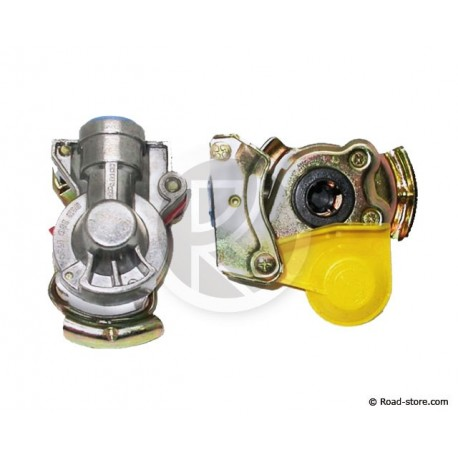 Yellow Flexible Connector of Brake with Filter