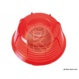 Lens for rear light britax red