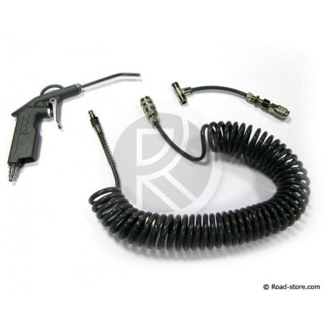 Air duster gun for MERCEDES and MAN 6M