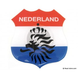 "Relief Sticker Adhesive ""NEDERLAND"" 112x120mm"
