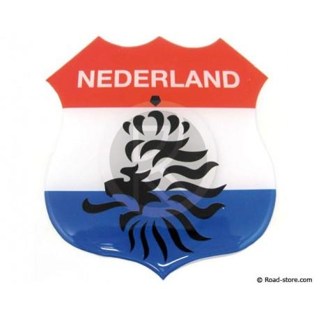 """Relief Sticker Adhesive """"NEDERLAND"""" 112x120mm"""