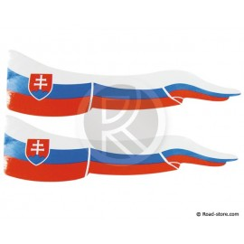 Flag Adhesiv 2x Slovakia