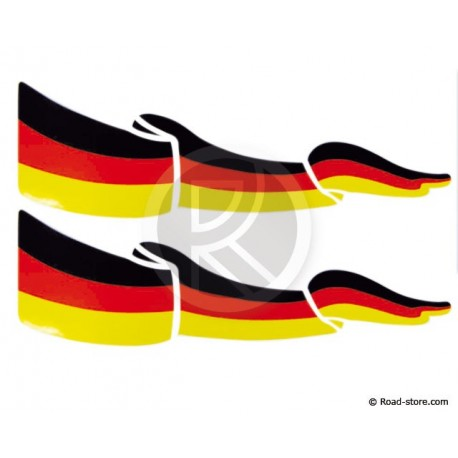 Flag Adhesiv 2x Germany
