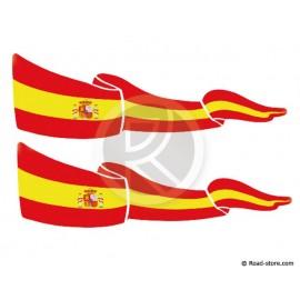 Fahnen Adhesiv 2x Spanien