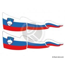 Fahnen Adhesiv 2x Slovenien
