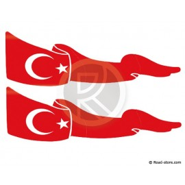 Flag Adhesiv 2 PIECES Turkey