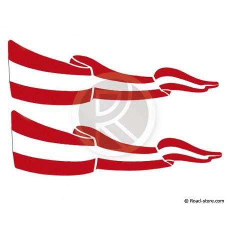 Flag Adhesiv 2x AUSTRIA