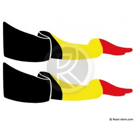 Fahnen Adhesiv 2X Belgien