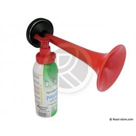 Hand-held horn