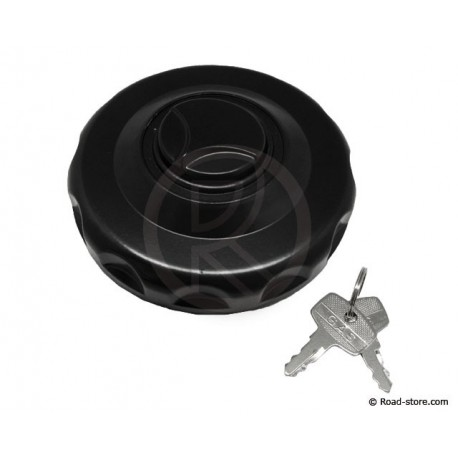 Fuel Cap Truck 80MM Black with 2 keys