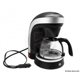 CAFETIERE 6 TASSES NOIR New Design 12V