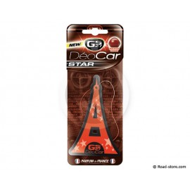 Air Freshener Deocar Star GS27 Cherry Scent