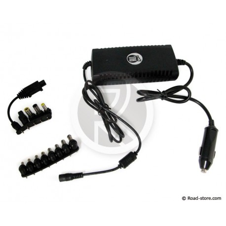 CHARGEUR PC 13 EMBOUTS 24V 6000MA + PORT USB