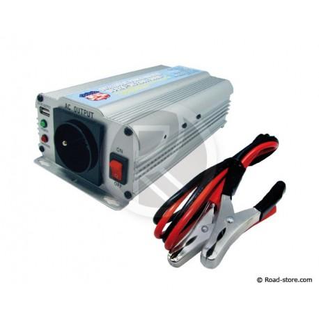Converter 12V/230V/600W DC/AC  + PORT USB