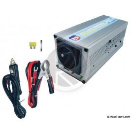 CONVERTISSEUR 24V/230V/300W + PORT USB