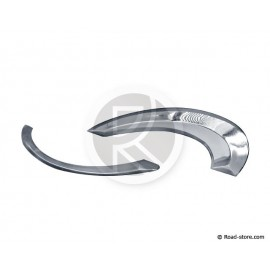 Chromed adhesive strips 3D