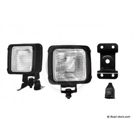 Zusätzliche Arbeitslampe 12 oder 24V mit Glühbirne
