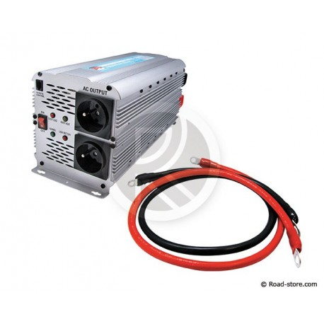 Converter 12V/230V/2500W DC/AC