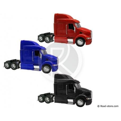 Truck 1/32e PETERBILT 387 Black/Blue/Red