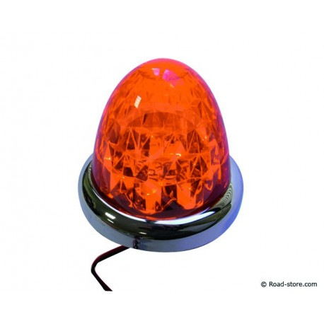 "DECORATION ""DIAMANT"" 9 LEDS 24V ORANGE"