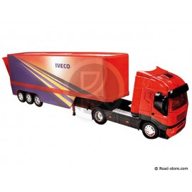 Lkw 1/32e IVECO STRALIS POT BELLY CONTAINER 40'