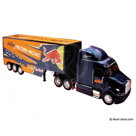 Truck 1/32e PETERBILT RED BULL KTM FACTORY RACING
