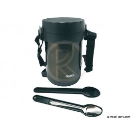 Bottle food all in 1 thermos gray 1,8L