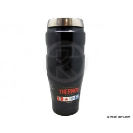 Mug thermos in stainless steel blue 470ml