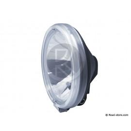 PHARE LONGUE PORTEE GM 24V H1 70W BLANC AVEC COURONNE VEILL. 4 LEDS