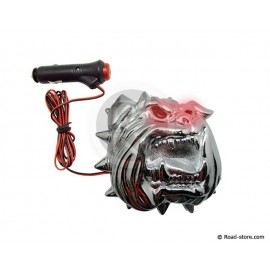 Chrome led bulldog 24V