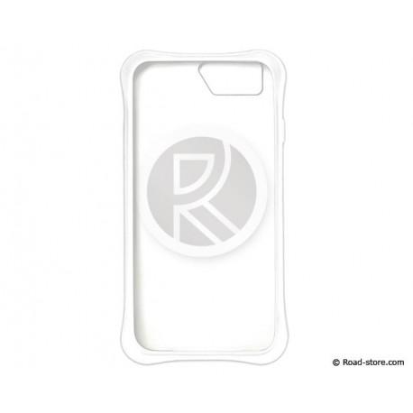 Weiche Schutzhülle für iPhone 6 Transparente Platte Weiße Rücksteite
