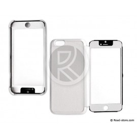Folio iPhone 6 with flap transparent tactil white